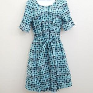 "NWT ""346"" Brooks Brothers Blue Dress Size 14 Plus"